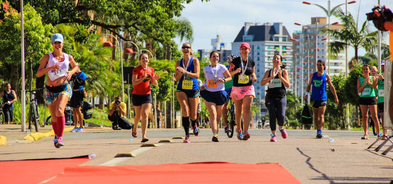 A chagada da Fernanda na Meia Maratona de Joinville