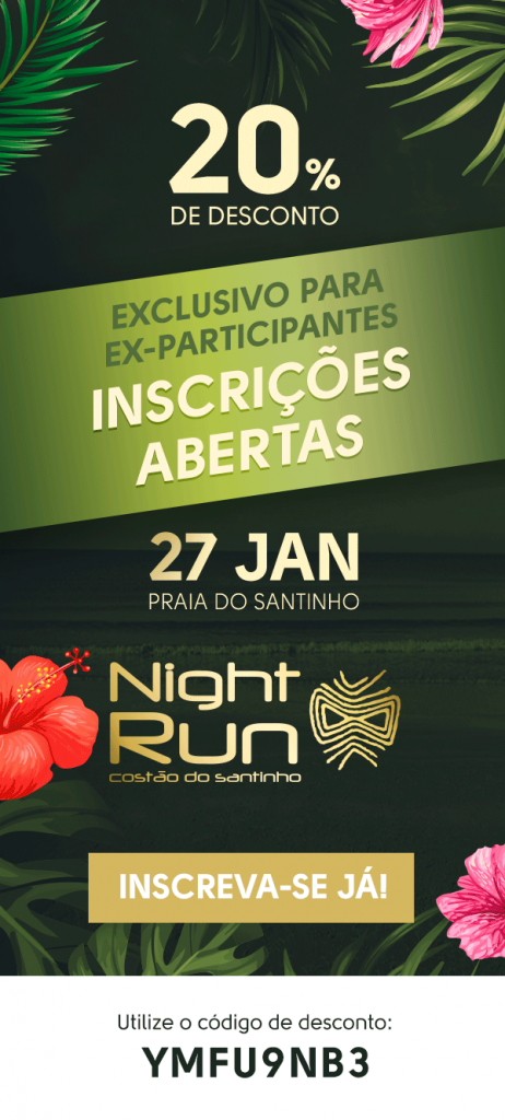 night run costão do santinho 2018