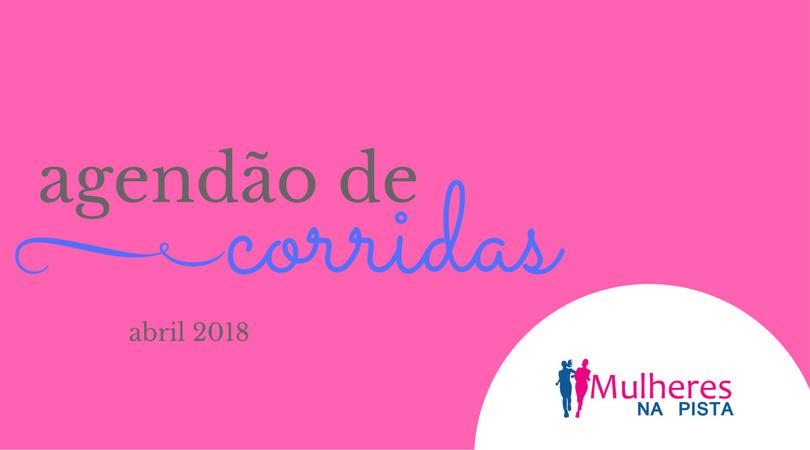 Agendão de Corridas em Santa Catarina - Abril 2018