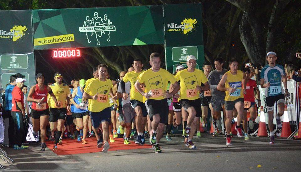 Night Run Joinville apresenta novidades para a edição 2018