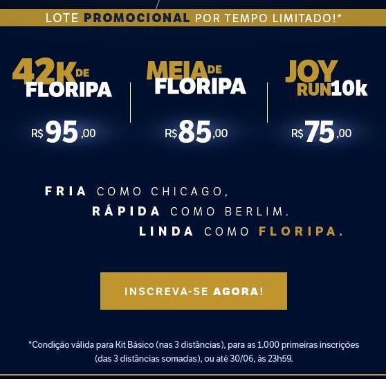 42k de floripa 2019 precos