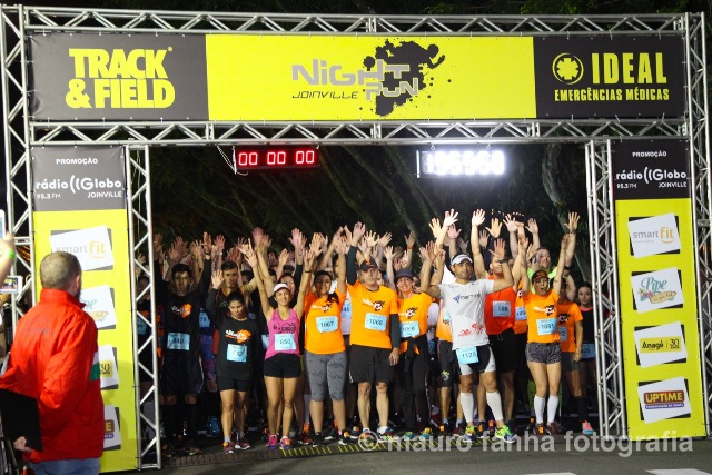 Night Run Joinville 2018 registra recorde