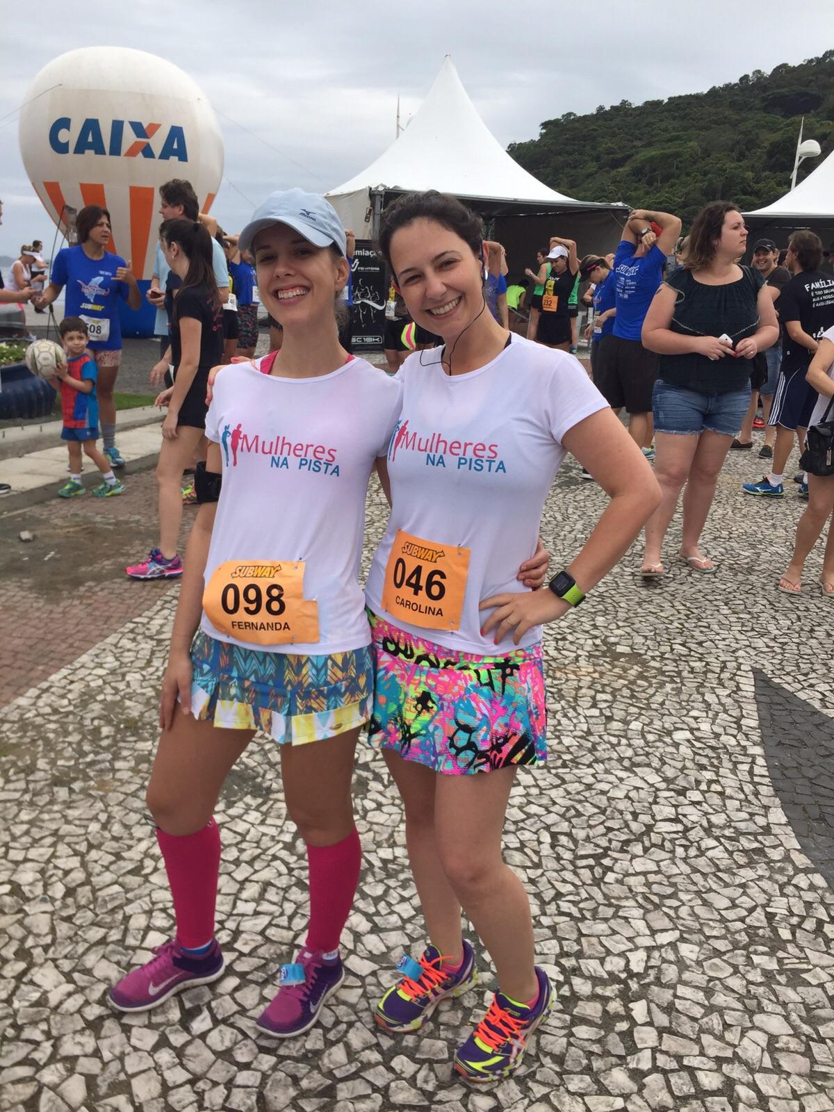 Promoção de aniversário: ganhe uma camiseta das Mulheres na Pista