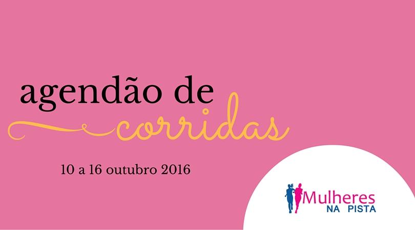 Agendão de corridas em Santa Catarina – 10 a 16 de outubro 2016