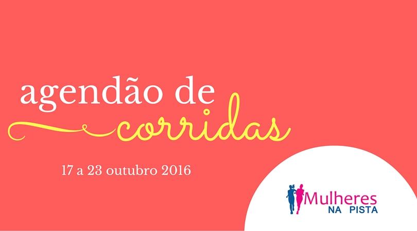 Agendão de corridas em Santa Catarina – 17 a 23 de outubro 2016