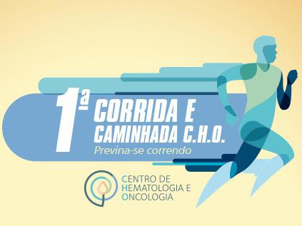 1a Corrida e Caminhada do CHO: retirada do kit e outras informações