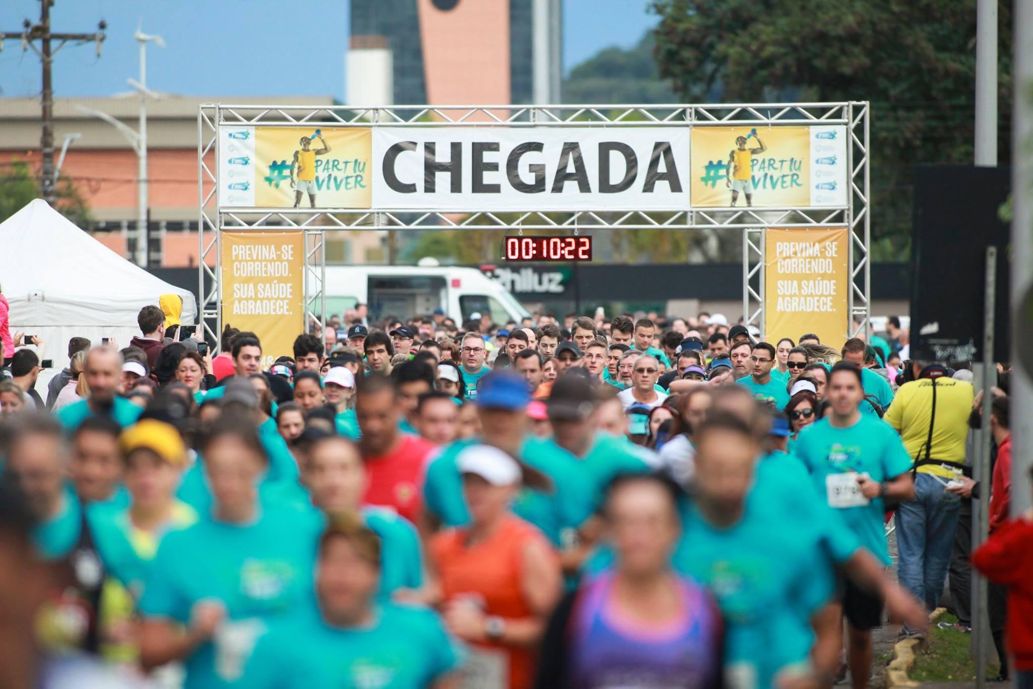 1a Corrida e Caminhada do CHO: mais de 1200 pessoas felizes e saudáveis!
