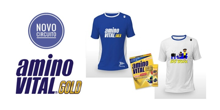 I Running lança corrida virtual em parceria com a aminoVITAL GOLD