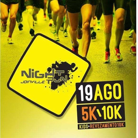 Night Run Joinville 2017: entrega de kit será em dois dias