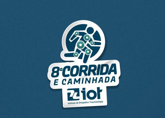 8ª Corrida e Caminhada IOT 2017: retirada de kit e horário de largada