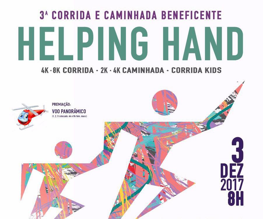Helping Hand 2017: inscrições vão até o dia 30