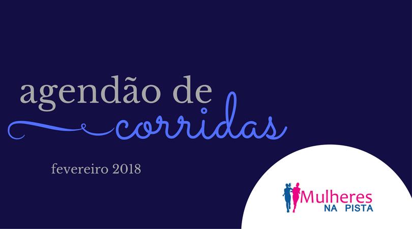 Agendão de Corridas em Santa Catarina - Fevereiro 2018