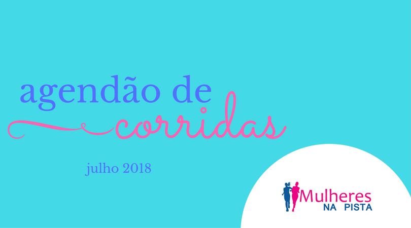 Agendão de Corridas em Santa Catarina - Julho 2018