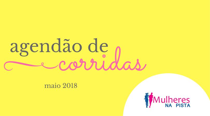 Agendão de Corridas em Santa Catarina - Maio 2018