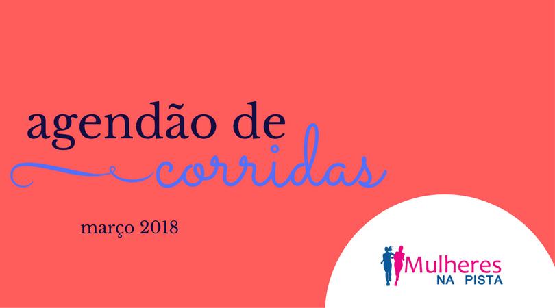 Agendão de Corridas em Santa Catarina - Março 2018