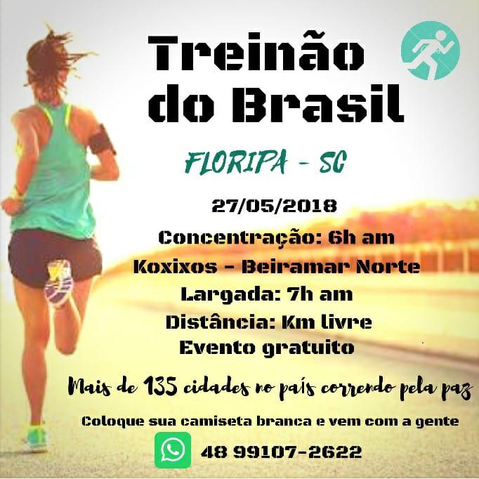 treinão do brasil 2018