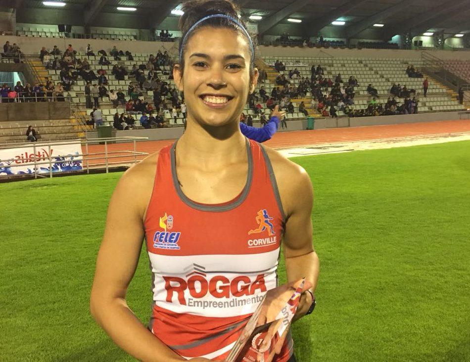 Vitória em Portugal: atleta joinvilense Tamiris de Liz brilha em pistas europeias