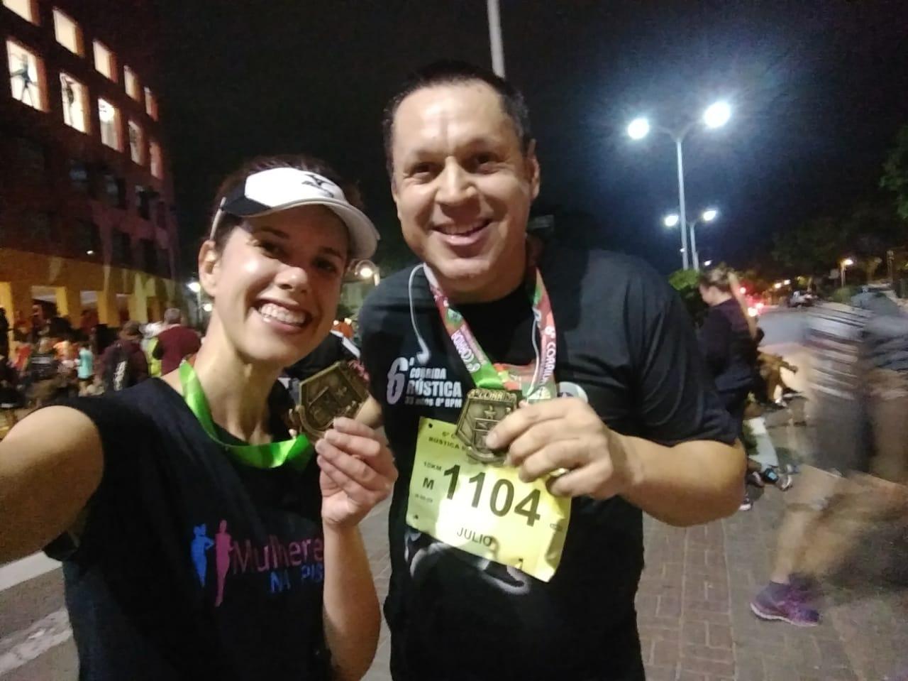 6ª Corrida e Caminhada Rústica do 8ºBPM: noite de superação total!