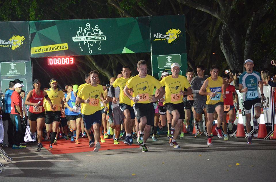 Corrida Night Run Joinville vai reunir 1,2 mil pessoas neste sábado