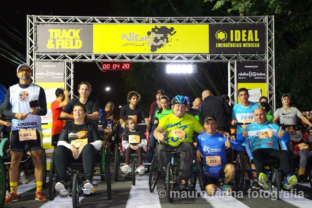Night Run Joinville 2018 registra recorde
