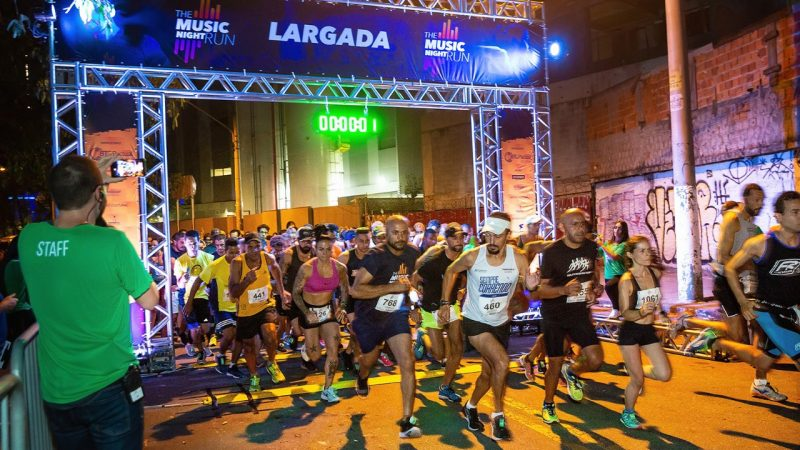 The Music Night Run 2019 reúne quase 3 mil atletas em SP