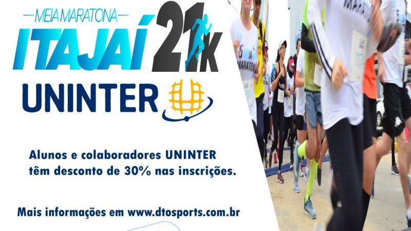 Inscrições para a Meia Maratona Itajaí 21k terminam no dia 13