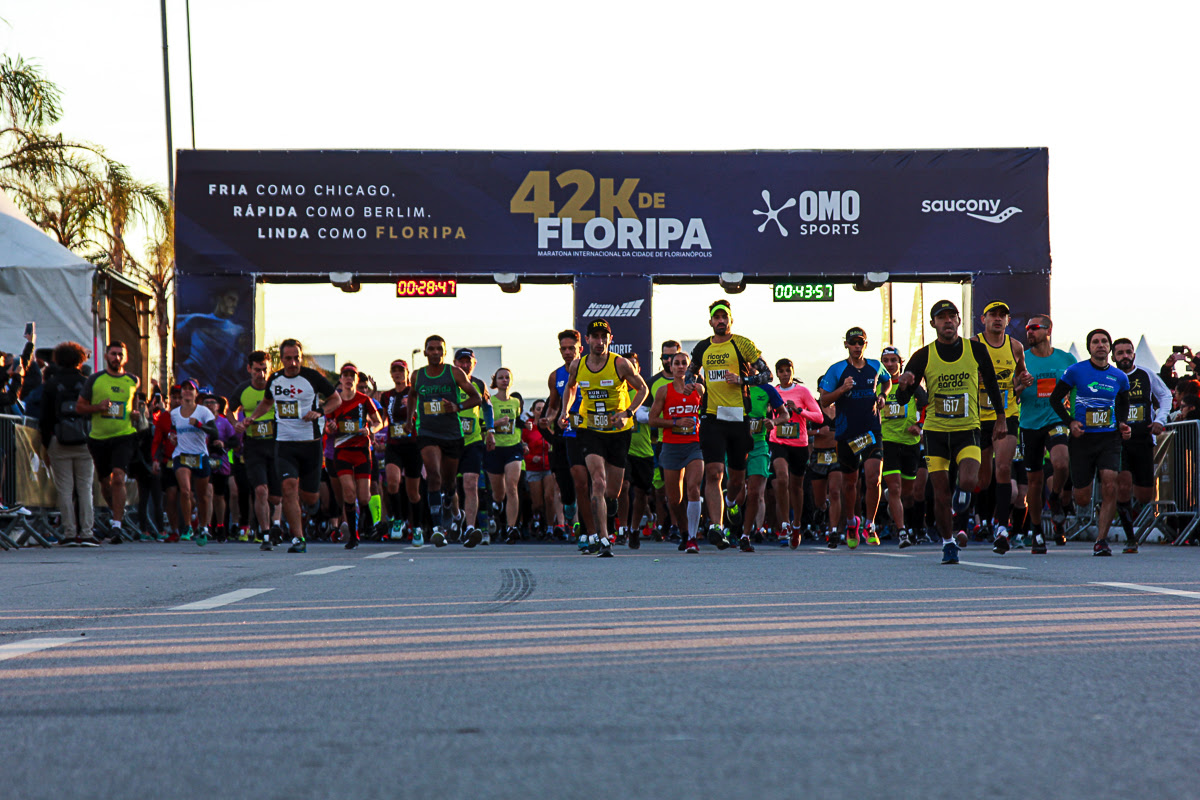 Está chegando a hora da Maratona Internacional da Cidade de Florianópolis