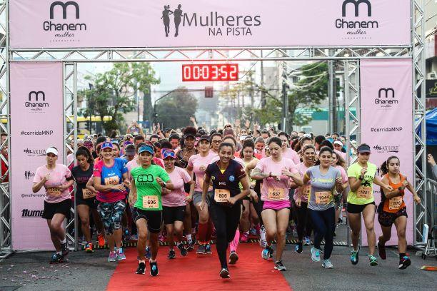 Corrida Mulheres na Pista colore as ruas de Joinville de rosa neste domingo (30)