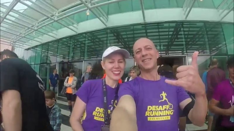 July e Junior do blog Desafio Running falam sobre a paixão pela Corrida de Rua