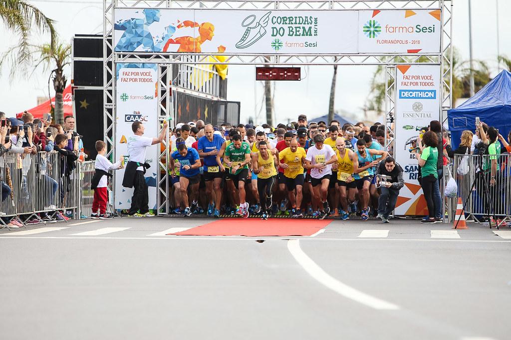 Etapa de Florianópolis do Circuito Corridas do Bem será no dia 22