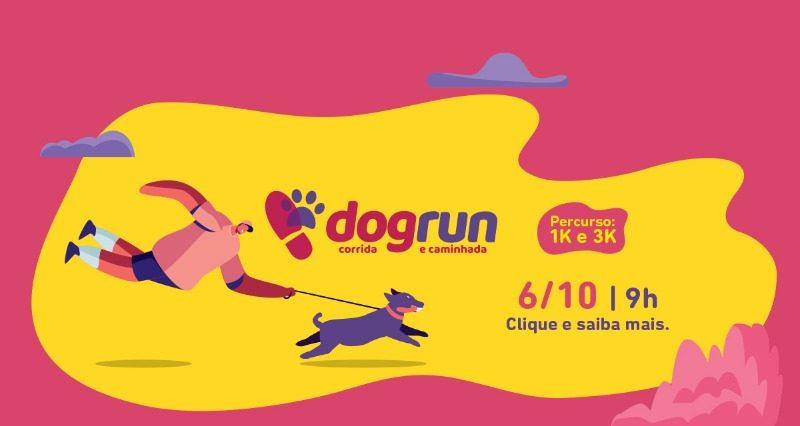 1ª Dog Run de Joinville abre inscrições em pré-venda