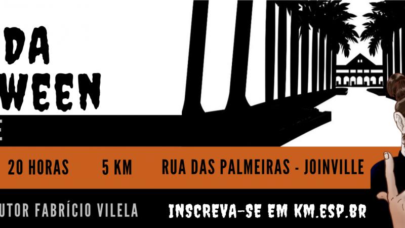 Retirada do kit da Corrida Halloween Joinville começa nesta sexta (25)