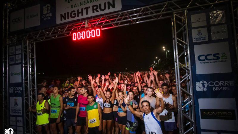 Balneário Night Run ocorre neste sábado (16). Confira todos os detalhes