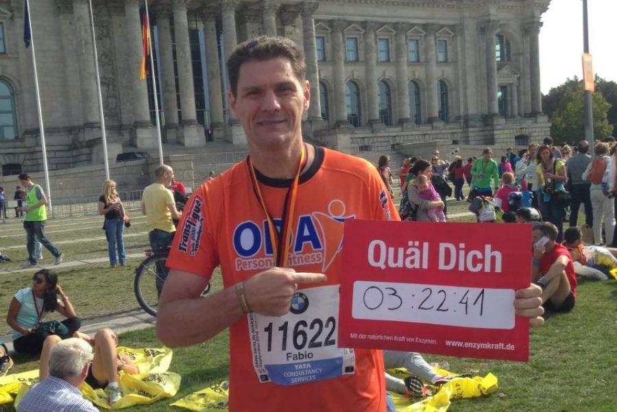 """Advogado Fábio Girolla é um dos raros maratonistas brasileiros que conquistou as """"Six Majors"""""""