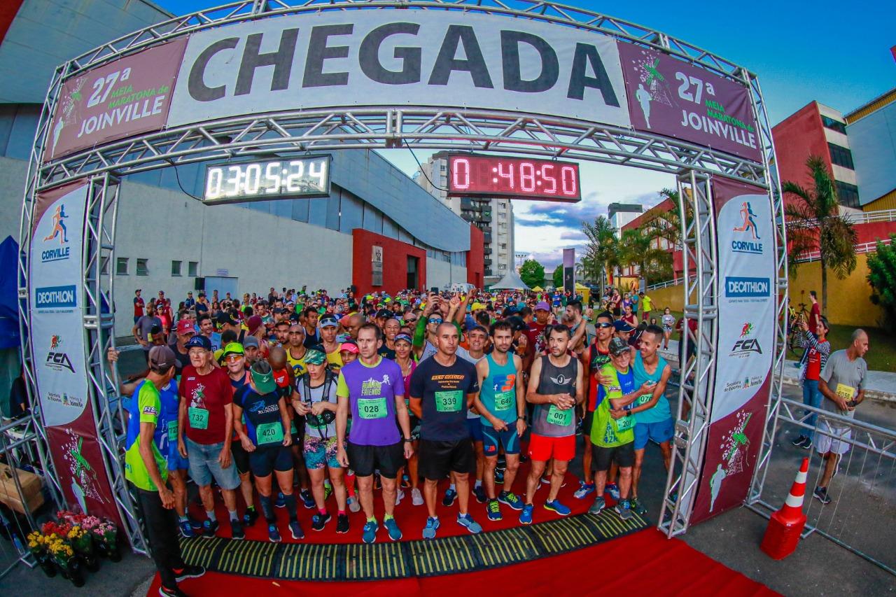 Meia Maratona de Joinville abre com chave de ouro a programação do aniversário da cidade