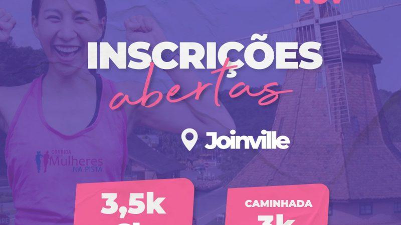 Segunda edição da Corrida Mulheres na Pista em Joinville tem nova data