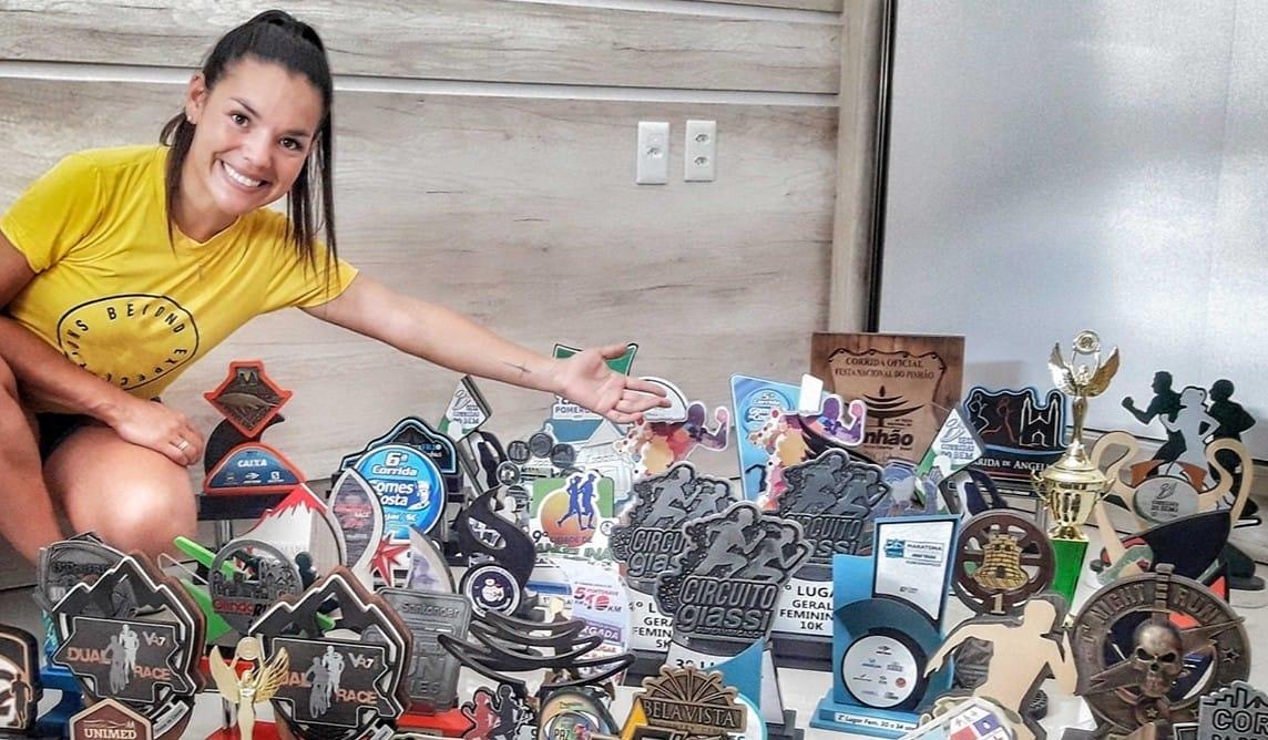 Advogada Elaine Borges começou na corrida pra controlar o peso, mas eis que tudo mudou…