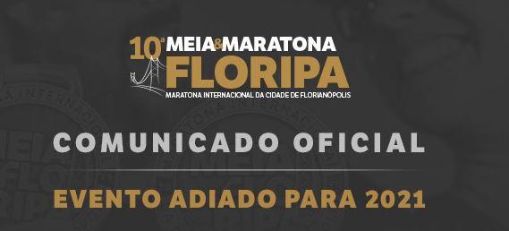 10ª Meia e Maratona de Florianópolis é adiada para 2021